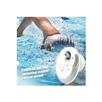 Swimming Pool Counter Current Swim Jet Kit with 2 Pumps