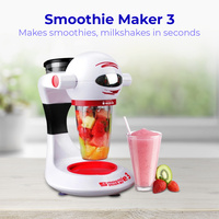 Smoothie Maker 3 Machine Blender Fruit Juicer  Milkshake Maker Mixer