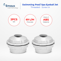 Emaux Swimming Pool/Spa Eyeball Jet x 2