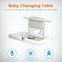 Commercial Cafe Restaurant Bathroom Wall Mount Baby Change Table