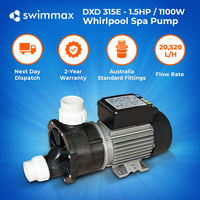DXD 315E 1.5hp/1.1kw - Spa Pool Circulation Pump, 20,500 L/Hour, 2 year Warranty