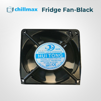 Fridge Fan Black