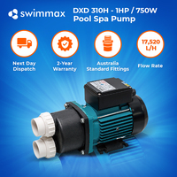 DXD 310H 1hp - Spa Pool Circulation Pump, 18,000 L/Hour, 2 year Warranty