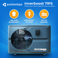 Swimmax Premium Inverter 7kw Pool Heat Pump