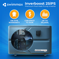Swimmax Inverboost Premium Inverter 25kw Pool Heat Pump