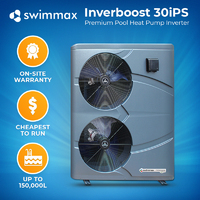 Swimmax Inverboost 30kw Pool Heat Pump
