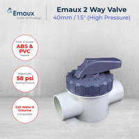 Emaux 2-Way Valve 40mm / 50mm