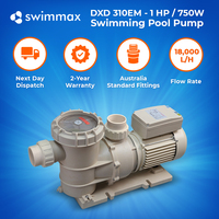 DXD 310EM 1.0hp/.75kw Swimming Pool Spa Pump, 2 year Warranty, Leading Brand OEM