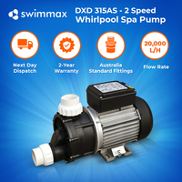 DXD 315AS - 2 Speed 1.5HP / 0.35HP Spa Tub Pool Pump 2 Year Warranty Leading OEM