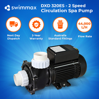 DXD 320ES - 2 Speed 2 HP / 0.5 HP Spa Tub Pool Pump 2 Year Warranty Leading OEM