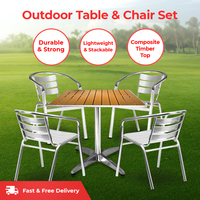 Cafe Table & Chairs Set
