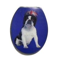 British Bulldog 2pc Toilet Seat
